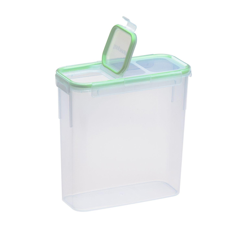Images Air Food Storage 15 3 Cup Rectangular Slim Container W Fliptop Lid