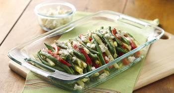Summer Bean & Pepper Salad